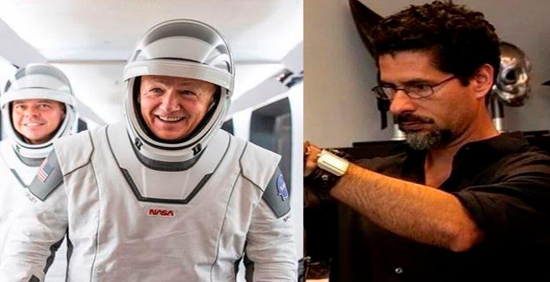 José Fernández, el mexicoamericano que diseñó los trajes de los astronautas de la NASA