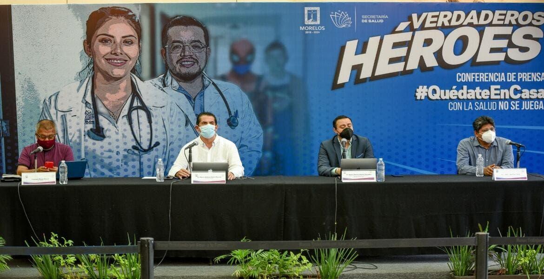 En Morelos se han confirmado mil 513 casos de coronavirus COVID-19