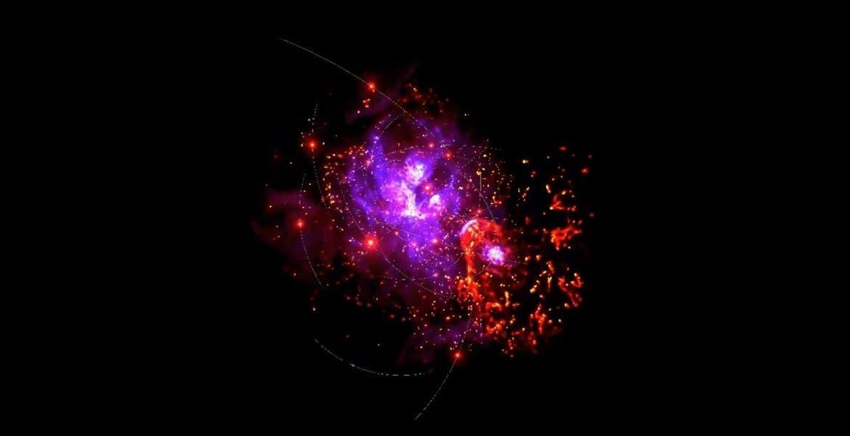 Realidad virtual de la NASA te lleva al centro de nuestra galaxia