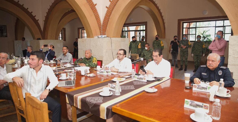Los Gobiernos estatal, federal y la 24/a Zona Militar trabajarán coordinados