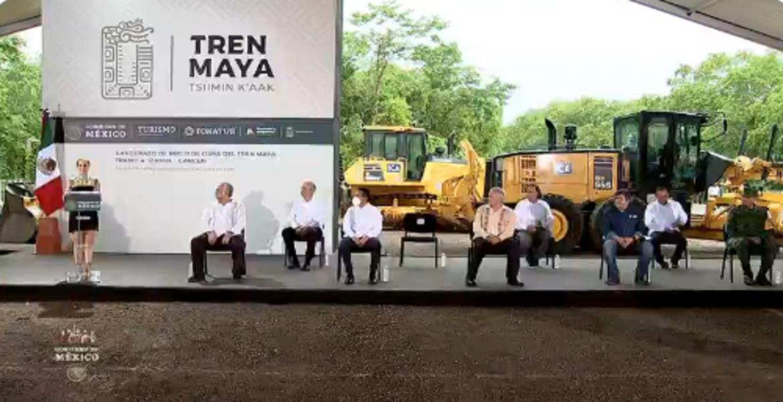 Arranca construcción del tramo delTren Maya Cancún - Izamal