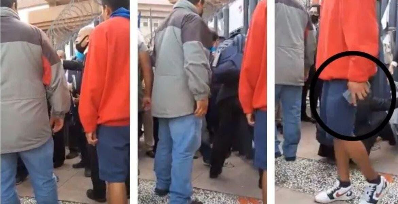 Abogado es golpeado y le roban celular frente a Palacio de Justicia en CDMX