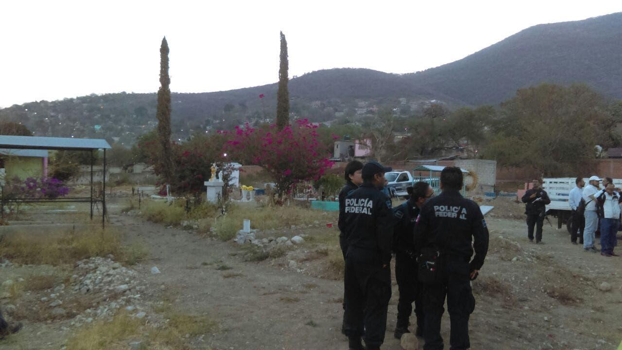 Inician excavaciones en pante n de jojutla esperan for Cementerio jardin del mar