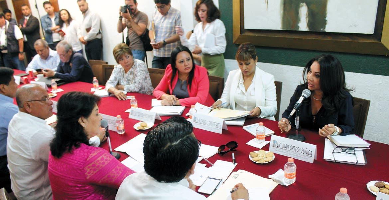 Presentación. Las representantes del Gobierno del Estado expusieron que el 63 por ciento de casos de violencia de género se concentran en la Zona Metropolitana de Cuernavaca.