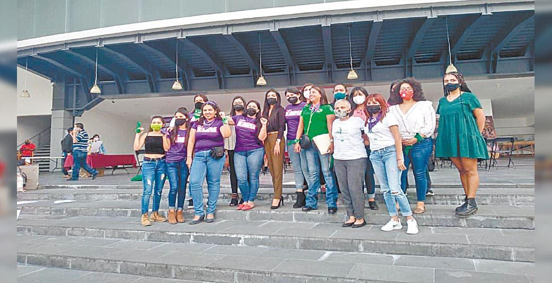 Abre Congreso de Morelos puertas a colectivos de mujeres