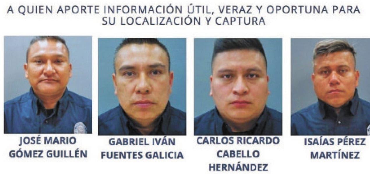 Busca Fiscalía a 4 policías asignados a Yautepec; dará recompensa
