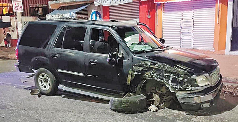 Fotonota: Se duerme al volante en Morelos