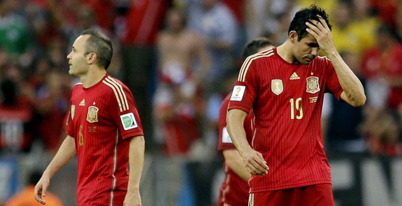 Andrés Iniesta y Diego Costa