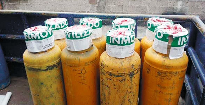 Costoso. Hasta 250 mil pesos podrían pagar de multa los dueños de las gaseras en cuyos cilindros detectaron irregularidades de peso y medidas de seguridad para el cliente.