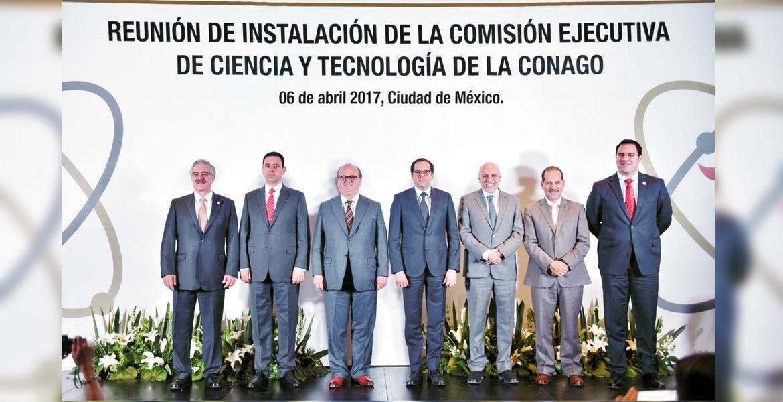 Evento. El Gobernador Graco Ramírez durante la instalación de la Comisión Ejecutiva de Ciencia y Tecnología de la Conago.