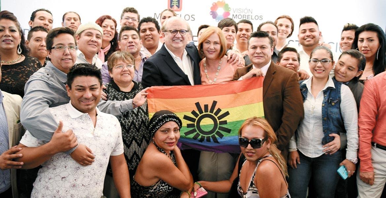 Apoyo. El Gobernador de Morelos expresó la serie de reformas que ha impulsado en favor de la comunidad Lésbico, Gay, Bisexual, Transgénero, Travesti, Transexual e Intersexual (LGBTTTI).