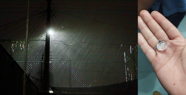 Sorprenden tormenta con granizo en la zona metropolitana de Cuernavaca