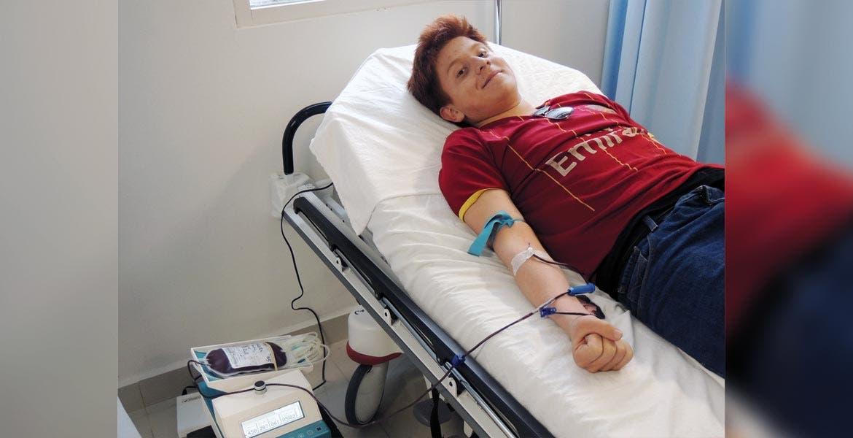 Necesario. En el HNAM los productos sanguíneos son indispensables para pacientes con cáncer, y accidentados.