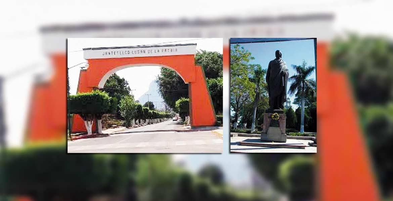 Entrada. Aspecto de la entrada a Jantetelco, municipio con riqueza cultural.