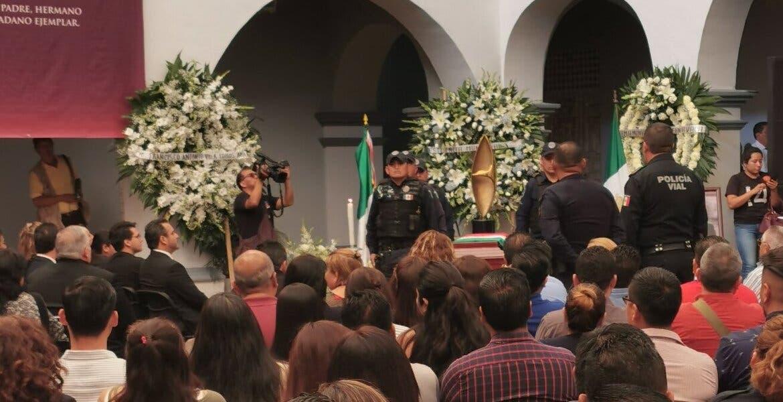 Inicia homenaje a encargado de despacho de Seguridad Pública de Cuernavaca, asesinado anoche
