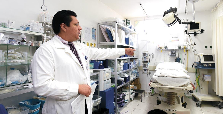 """Vista. El Hospital General de Cuernavaca """"José G. Parres"""" cumple con las NOM; tiene alta demanda y es el más grande del estado"""
