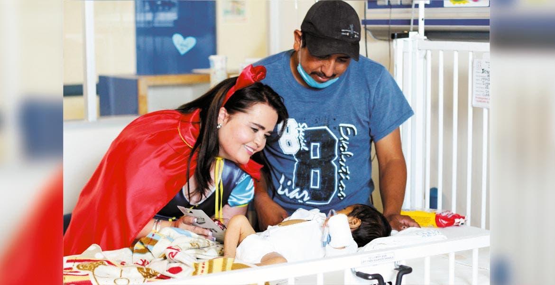 Actividades. Calidad y calidez humana destacan en el servicio prestado por el Hospital del Niño y Adolescente Morelense a pacientes de la entidad y de estados circunvecinos.