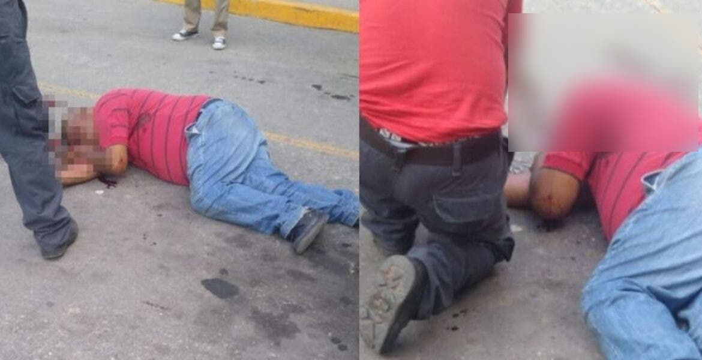 Ejecutan a un hombre afuera de minisúper en Emiliano Zapata