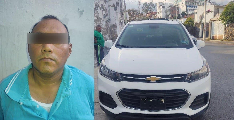 Ex comandante de la Policía Vial de Cuernavaca, detenido con camioneta robada