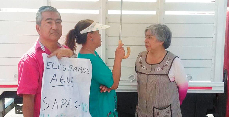 jHartazgo. Vecinos recurren a protestas y bloqueos para presionar al SAPAC ante la nula respuesta.