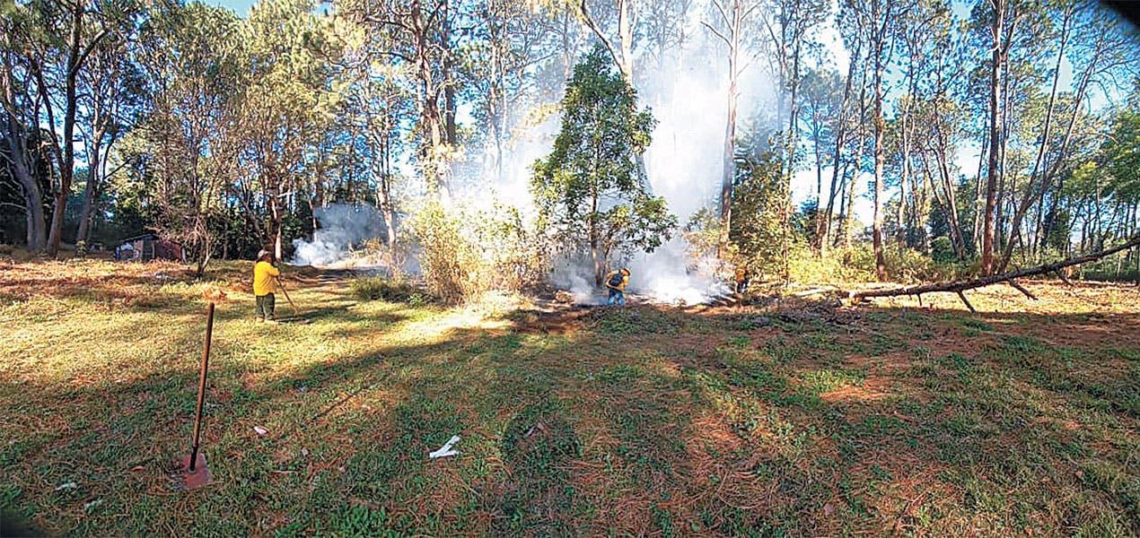 Implementa Cuernavaca programa contra incendios
