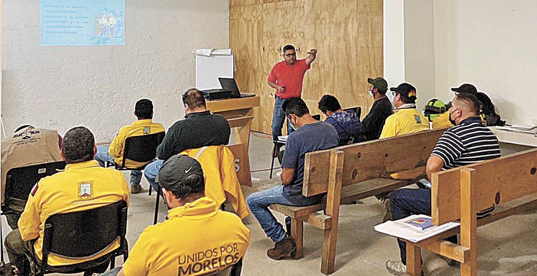 Se preparan para temporada de incendios forestales en Morelos