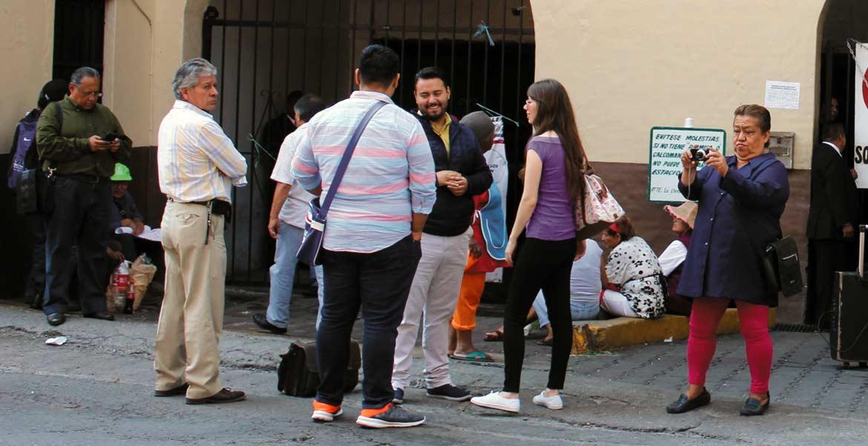 Manifestación. La semana pasada, un grupo de inconformes bloqueó por algunas horas las principales calles del Centro de Cuernavaca para exigir audiencia.