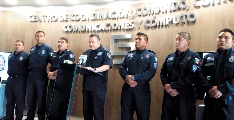 """Conferencia. Jesús Alberto Capella informó que hay tres sujetos, uno de ellos apodado """"El Fabián"""", implicados en el asesinato de dos taxistas, suscitado el jueves en el estacionamiento de un restaurante en Temixco."""
