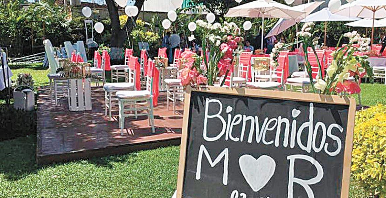 Mañana regresan las fiestas a los jardines de eventos en Morelos