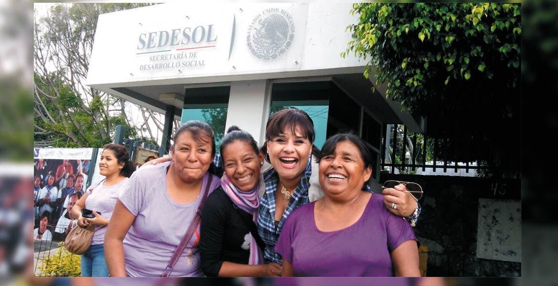 Acercan programa. La delegación de la Sedesol facilitará a las mujeres jefas de familia la afiliación al programa.