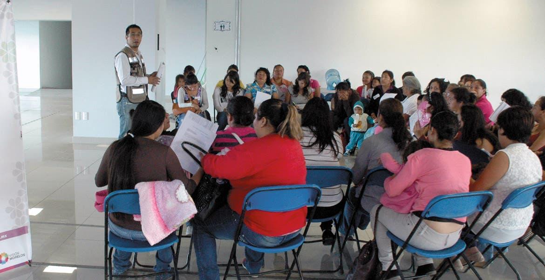 Seguro. El programa busca garantizar el bienestar de los pequeños que dependen únicamente de sus madres.
