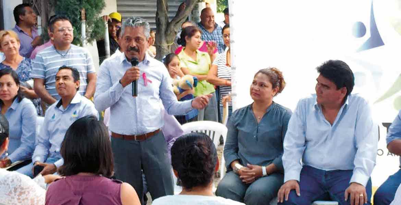 Acuerdo. A petiición de la ciudadanía, quienes estén en el programa de coparticipación social no pagarán la introducción de drenaje.