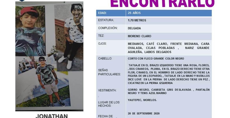 Joven desaparecido en Yautepec sí estaba entre cuerpos hallados en cisterna de Totolapan