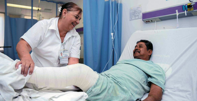 Apoyos. Los pacientes beneficiados son de escasos recursos y se encuentran afiliados al Seguro Popular.