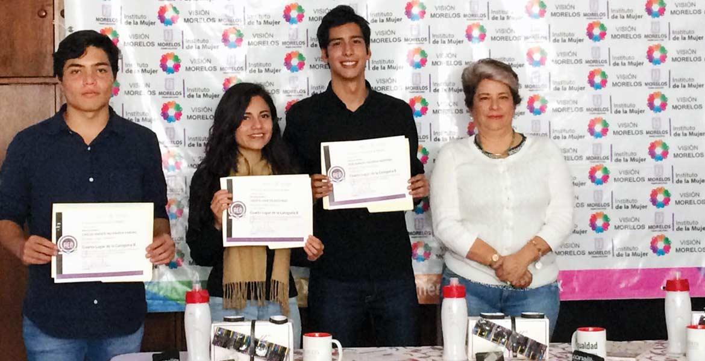 Prevención. Jóvenes de Morelos concursan en para prevenir embarazos entre adolescentes, con un video informativo.