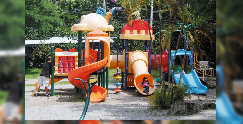 Intención. La autoridad municipal pretende bajar recursos federales para equipar el Parque Tlaltenango y otros espacios que han estado abandonados.