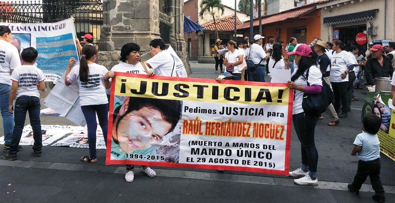 Piden. Madres de víctimas desaparecidas pidieron a las autoridades un rastreo detallado en las fosas de Jojutla