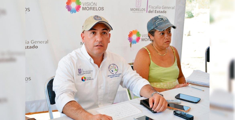Informan. Javier Pérez Durón afirmó que el lunes seguirán con los trabajos para sacar los cuerpos que faltan de la fosa de Jojutla