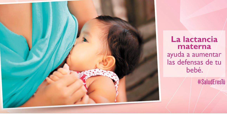 Protege lactancia materna a bebés de COVID-19: INSP