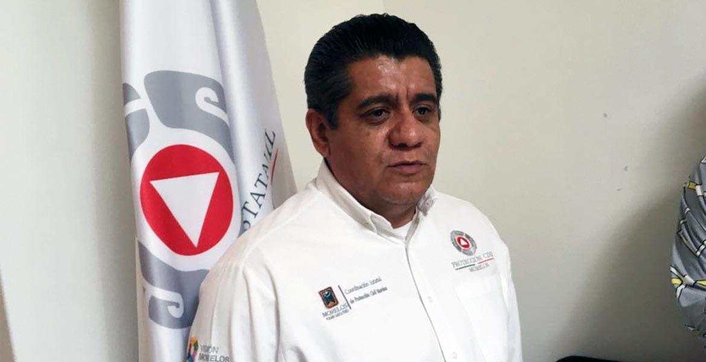 Víctor Chávez Arizmendi, director de Atención de Emergencias de PC estatal.
