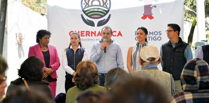 Recorridos. El alcalde Cuauhtémoc Blanco asegura que no se puede seguir afectando a la ciudadanía con la suspensión del cabildo.