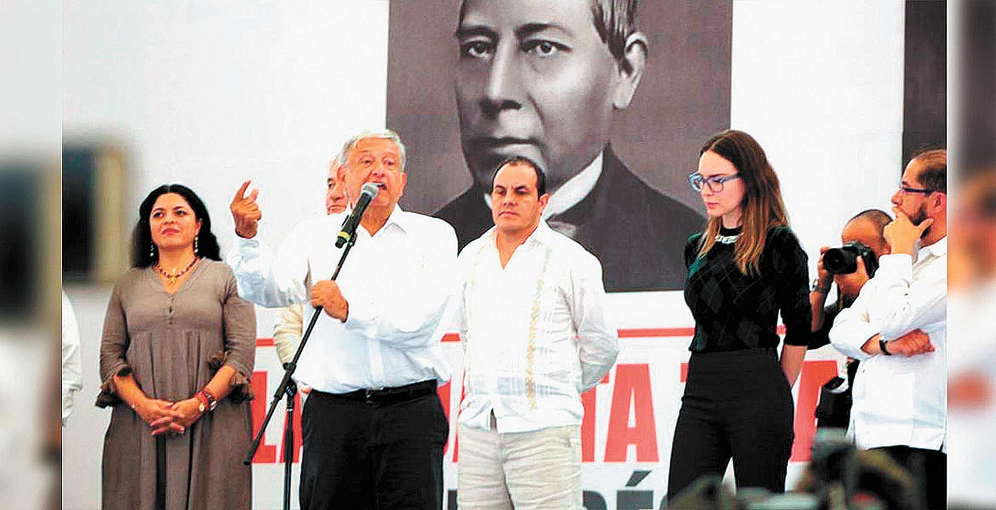 López Obrador visitará hoy Morelos; viene a Coatetelco