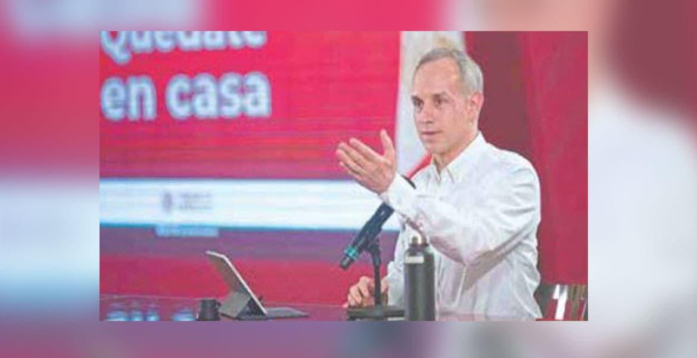 Seguiremos con el incremento de contagios: López-Gatell