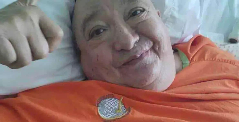 Familia de Luis de Alba pide apoyo económico pasa solventar gastos de hospitalización