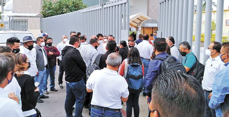ISR: Profesores homologados piden apoyo en Congreso de Morelos