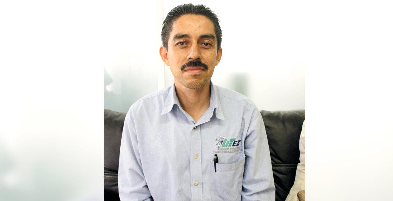 Iván Alcalá Barojas, profesor Investigador de la UTEZ