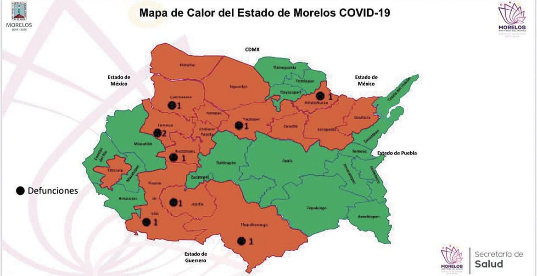 Van 9 muertes por Coronavirus en Morelos