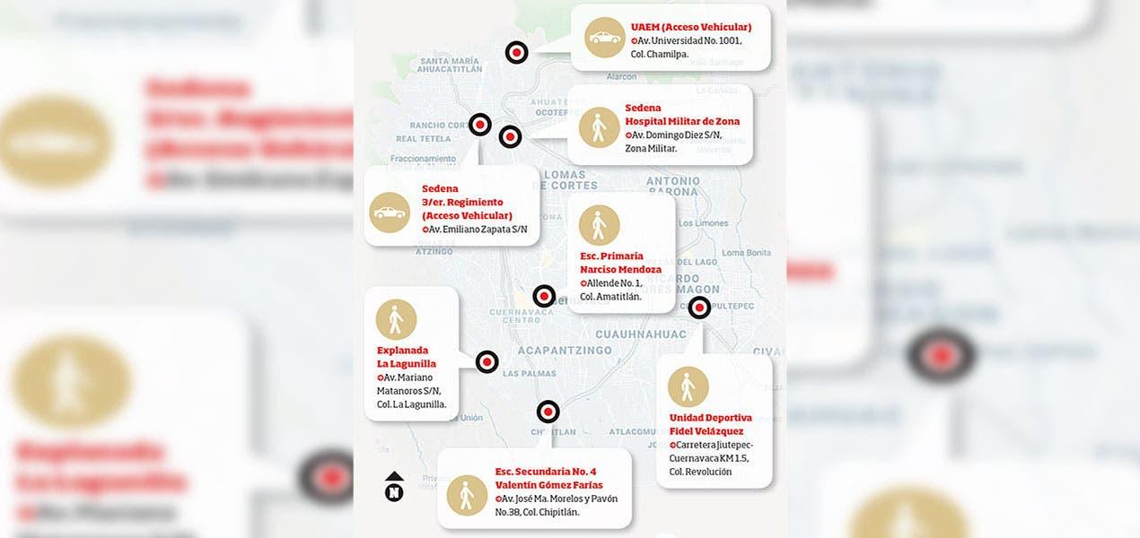 Cuernavaca : Todo listo para el reinicio de vacunación