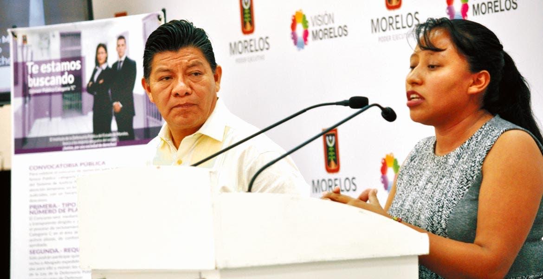 Bases. El secretario de Gobierno, Matías Quiroz, y la titular del IDFP, Mirta Aguirre, garantizaron a las personas el derecho a la defensa y el acceso a la justicia.