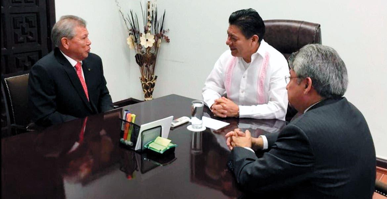 Respaldo. El secretario de Gobierno, Matías Quiroz Medina, aseguró que habrá diálogo y apoyo a las autoridades del municipio de Temixco.